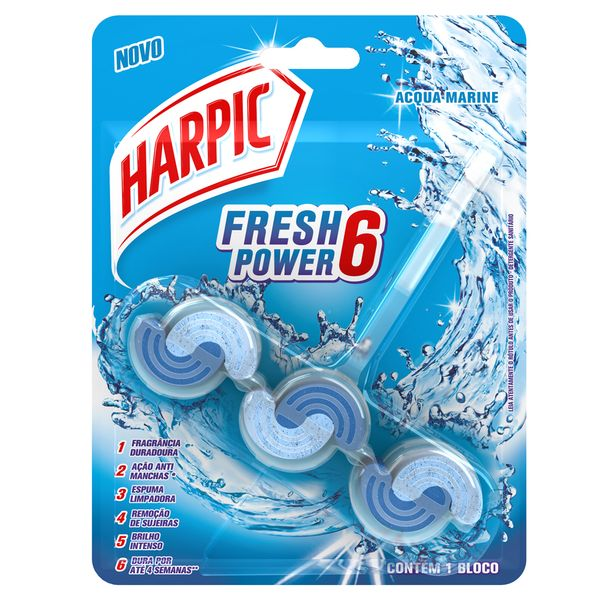 BLOCO-SANITARIO-HARPIC-POWER6-39G-ACQUA-