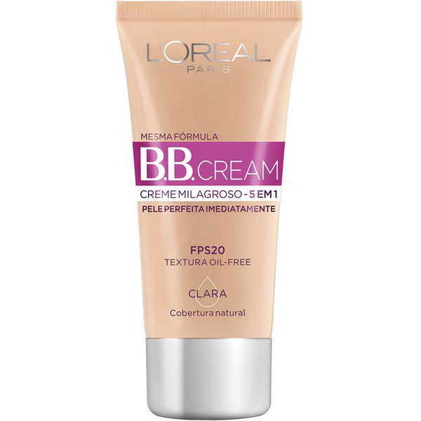 CREME-FACIAL-LOREAL-BASE-FPS20-300ML-COR