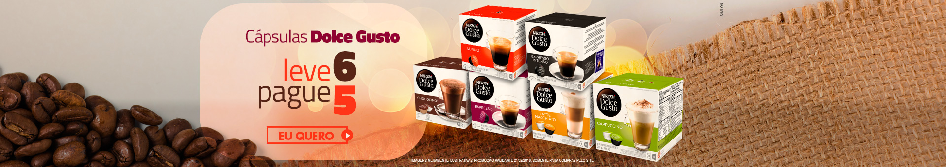 Dolce Gusto leve mais