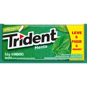 GOMA-MASCAR-TRIDENT-LEVE-6-PAGUE-5-MENTA