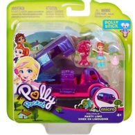 Boneca-Polly-Pocket-Pollyville-Carrinhos
