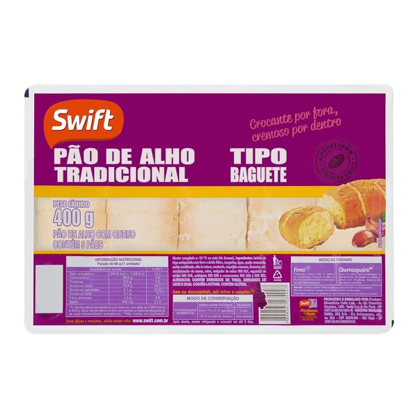 Pao-Alho-Swift-400g